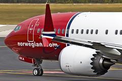 LNBKA2 (fakocka84) Tags: lisztferencairport lhbp norwegian boeing737max8