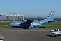 Irish 253. (aitch tee) Tags: cardiffairport aircraft cwlegff maesawyrcaerdydd walesuk irishaircorps maritime 253 aerchornaeireann cn235100mp militaryaircraft
