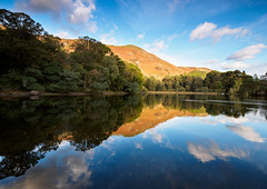 Derwent water reflection 2 (Alf Branch) Tags: derwentwater water cumbria clouds cumbrialakedistrict calmwater alfbranch olympus omd olympusomdem5mkii panasonic leicadg818mmf284 landscape lakes lakedistrict lake lakesdistrict refelections reflection