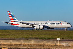 N824AN AA B789 34R YSSY-7155 (A u s s i e P o m m) Tags: newsouthwales australia au americanairlines american aa boeing b789 syd yssy sydneyairport