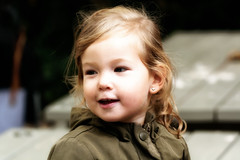 The Sunny Child (Alfred Grupstra) Tags: child cute people smiling oneperson childhood portrait girls cheerful happiness small humanface lookingatcamera lifestyle babiesandchildren beautiful blondhair fun females
