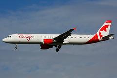 C-FYXF (Air Canada rouge) (Steelhead 2010) Tags: aircanada rouge airbus a321200 a321 yyz creg cfyxf