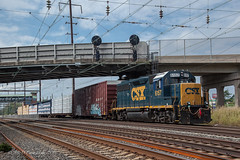 CSAO BS-03 Local @ Levittown, PA (Darryl Rule's Photography) Tags: 2018 26e bs03 bristol buckscounty cpwestlang csao csx csxt catenary clouds cloudy conrail conrailsharedassets emd eastbound fall freight freightcar freighttrain freighttrains ge gp382 gp402 grundytower heritage heritageunit heritageunits intermodal langhorne levittown local mixedfreight morrisvilleline necorridor ns norfolksouthern northeastcorridor october originalns pa pc prr penncentral pennsy pennsylvania pennsylvaniarailroad poppyspizza positionsignals signal signals station sun sunny trentoncutoff tullytown westlang
