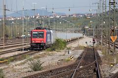 SBB 482 048 + 185 637 Weil am Rhein (daveymills37886) Tags: 482 048 185 637 weil am rhein bombardier traxx baureihe cargo