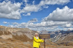 Shirley at Black Bear Pass (Jim Johnston (OKC)) Tags: blackbearpassroad shirley sanjuanmountains clouds colorado switchbacks