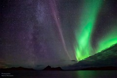 Milky way (mansachs) Tags: auroraborealis nordlys northernlights northernhemisphere northernlight milky way mælkevejen milkyway aurora