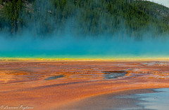 Grand Prismatic Spring - Yellowstone National Park (superpugger) Tags: canon canong1xmarkii g1x g1xmarkii yellowstone yellowstonenationalpark grandprismaticspring hot spring hotspring geothermal geothermalactivity volcanicactivity caldera wyoming nationalparksystem lpugliares