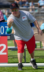 2018 Outdoor Games: Bocce (Special Olympics Missouri) Tags: somo specialolympicsmissouri specialolympics sports fun games athletes bocce bocceball