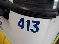 413 (alexandrebertrand60) Tags: bus dépôt stde dkbus dunkerque agora s gnv l renault irisbus