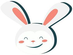 Small Smiling Bunny (TattooForAWeek) Tags: small smiling bunny tattooforaweek temporary tattoos wicker furniture paradise outdoor