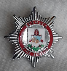 Bermuda Fire Service Cap Badge 1982-2007 (Lesopc) Tags: bfs bermuda fire service brigade cap badge logo 1982 1983 1984 1985 1986 1987 1988 1989 1990 1991 1992 1993 1994 1995 1996 1997 1998 1999 2000 2001 2002 2003 2004 2005 2006 2007 uk rescue british overseas territory