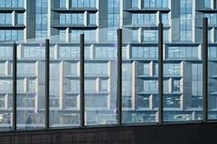 QWZ04292 (qwz) Tags: hartbleimc28150mm fence hartblei150mm skyscraper москва moscow architecture detail