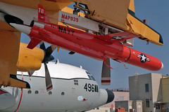BQM-74E target drone (skyhawkpc) Tags: aviation rdte 1992 570496 dc130a hercules nasptmugu pmtc dvic navalairwarfarecenterweaponsdivision vancevasquez navy usn naval aircraft airplane usnavy ca bq35092 bqm74e nawcwd pacificmissiletestcenter officialusnavy
