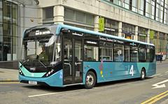 YX68ULA Trent Barton 129 (martin 65) Tags: i4 e200 enviro mmc nottinghamshire nottingham trent transport road public bus buses barton derby vehicle