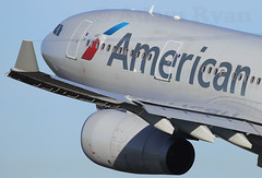 N290AY - American Airlines A330-200 (✈ Adam_Ryan ✈) Tags: dub eidw dublinairport 2018 dublinairport2018 close up closeup upclose wing flight action sun morning aviation aircraft airbus boeing wingview vapour condensation early earlymorning canon 6d 100400liiisusm wingflex n290ay americanairlines a330 americanairlinesnewlivery