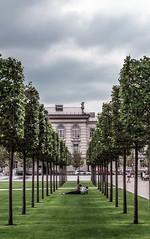 Paris in our Hearts (Augustė Dukauskaitė (očiaaš)) Tags: paris vilnius trees love green blue artphotography architecture city urban street colors colours passion couple