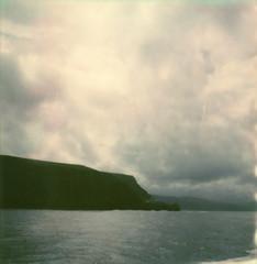 stormy (lawatt) Tags: clouds rain water pacific ocean channel islands santacruzisland silver film instant polaroid sx70 roidweek2018