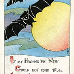 Halloween - Bats, 1919 thumbnail