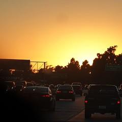 I'll follow the sun: rush hour in LA. (nobihaya) Tags: ifttt instagram mcstr