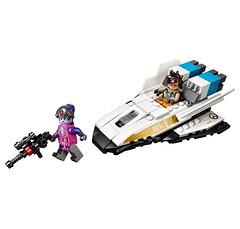 LEGO Overwatch Tracer vs Widowmaker 3 (hello_bricks) Tags: lego overwatch