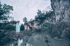 Huan Hsi Sha (bdrc) Tags: fullframe malaysia alorsetar kedah travel chinese hanfu 汉服 traditional culture costume apparel attire bluelagoon lake lime stone quarry outdoor flash strobe godox ad600 natsuki coser model people girl portrait tokina 1116mm f28 ultrawide sony sonyalpha sonyimages sonyuniverse asdgraphy malaysiaphotographer mirrorless