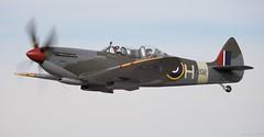 Supermarine Spitfire TR Mk IX - G-CCCA Lee on Solent Airfield 2018 (SupaSmokey) Tags: supermarine spitfire tr mk ix gccca lee solent airfield 2018