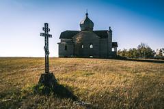 Unfinished Dreams  1 of 3 (glen.bowe) Tags: oldchurches saskatchewan structure abandoned rural rurex pentax pentaxart orthodox church historic canada ukrainian decay old