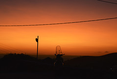 Dreamy sunset (Miguel Castrillo Melguizo) Tags: dreamy sunset sun red dark greece cyclades cícladas aegean egeo ios chora cielo rojo sky burning ardiente mejor atardecer moto motorbike bike nikon d3200 islas griegas verano summer anochecer sol motocicleta vision panorama atmosphere travel holiday move wandering