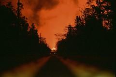 Kilauea Eruption (Mike Caputo) Tags: 35mm slidefilm velvia50 nikonf3 kilaueaeruption volcano lava