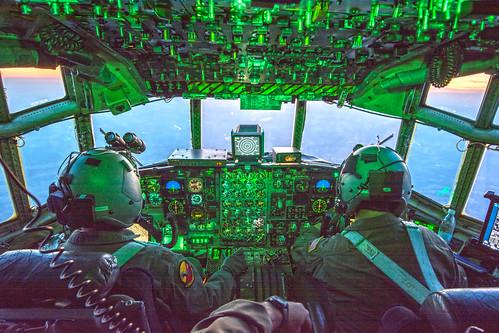 Flying a C-130, variant