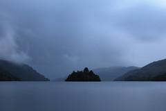 Loch Lomond (ravnhenkel) Tags: island loch lomond scotland lake mountains hiking west highland way clouds gloomy
