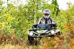 ATV driver in early autumn (VisitLakeland) Tags: atv finland lakeland tahko ajaa autumn drive luonto maisema mönkijä nature offroad outdoor ruska safari scenery syksy