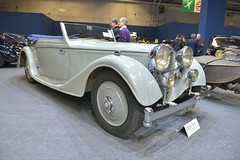 1935 Alvis Speed Twenty SD cabriolet Vanvooren (pontfire) Tags: 1935 alvis speed twenty sd cabriolet vanvooren 35 rétromobile 2018 retromobile salon véhicule de collection pontfire car cars autos automobili automobile automobiles voiture voitures coche coches carro carros wagen classic old antique ancienne vieille veteran vintage classique pontifre bil αυτοκίνητο 車 автомобиль oldtimer anglaise british dhc dropheadcoupe