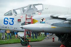 63 blue Sukhoi SU-25UB Ukrainian AF (SPRedSteve) Tags: