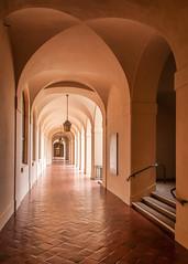 City Hall Passageway - HDR (byron bauer) Tags: byronbauer 2018worldwidephotowalk pasadena california cityhall scottishritecathedral scottkelby building architecture city topaz simplify lumenzia