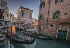 Venice,Italy (y.mihov, Big Thanks for more than a million views) Tags: venice venezia italy city sonyalpha sightseeing sigma 1224mm wide winter wealth water sea street skyes stone bridge bricks gondola people europe window trespass travel tourist town retro historical house veneto