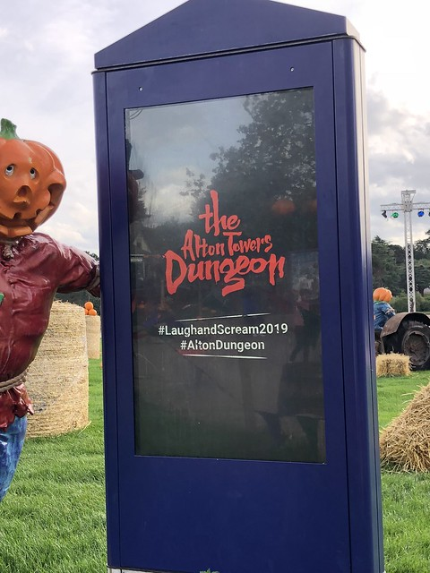The Alton Towers Dungeon marketing