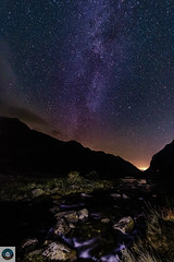 Flowing to the stars... (SLR Hardy Photography) Tags: stars astrophotography longexposure canon750d sigma river mountains sky night dark wales llanberis milky way