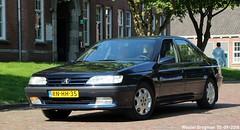 Peugeot 605 ST 2.0 Turbo 1997 (XBXG) Tags: rnhh35 peugeot 605 st 20 turbo 1997 peugeot605 la fête des limousines 2018 fort isabella reutsedijk vught nederland holland netherlands paysbas emw elk merk waardig youngtimer old classic french car auto automobile voiture ancienne française vehicle outdoor