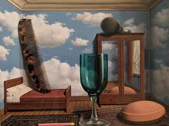 """""""Personal Values"""", Rene Magritte (1952) (Joey Hinton) Tags: sanfrancisco california unitedstates rene magritte exhibit museum modern art google pixel2 andriod smartphone cellphone cameraphone phone"""