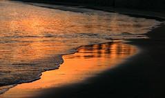 La otra orilla (alfonsocarlospalencia) Tags: orilla dorado reflejo atardecer arena espuma la magdalena santander cantabria paseo celestial oro agua triángulo recuerdos melancolía verano negro anaranjado dibujos