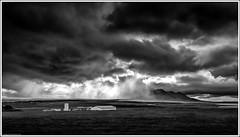 Víðidalsfjall (niggyl (well behind)) Tags: iceland northiceland norðausturland ísland inspiredbyiceland island icelandiclandscape breathtakinglandscapes landscape cloudsstormssunsetssunrises cloudporn therebeastormabrewin northeasticeland sheppy fujifilm vatnsdalurvalley víðidalsfjallrange leysingjastaðir burialrites hannahkent agnesmagnúsdóttir storm squall stormclouds squallline wildweather rain rainsquall thefogandtherain cloudscape þingeyrar fujifilmxt2 fujixt2 xt2 fujinon fujinonxf2314r fujixf2314r xf2314 blackandwhite monochrome mono bandw contrejour