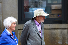 Views from the street (Mussi Katz) Tags: street pension couple old elderly retired boston 80s
