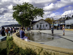 New water park (Tony Tomlin) Tags: whiterockbc britishcolumbia canada whiterockstation waterpark