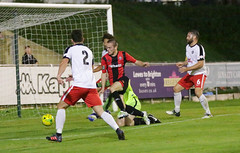 Lewes 2 Kings Langley 1 FAC replay 26 09 2018-220.jpg (jamesboyes) Tags: lewes kingslangley football nonleague soccer fussball calcio voetbal amateur facup tackle pitch canon 70d dslr