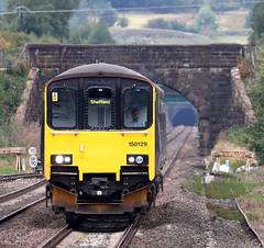 150129 Class 150/1 Sprinter (Roger Wasley) Tags: 150129 class150 sprinter dmu edale derbyshire dieselmultipleunit cowburntunnel
