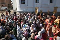 45. Престольный праздник свв. мучениц в соборе г. Святогорска 30.09.2018