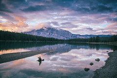 Two Jack Lake, Banff (tclemitson) Tags: alberta banff canada sunrise twojacklake improvementdistrictno9 banffnationalpark