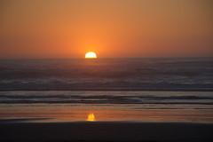(djerniganphoto) Tags: sunset sky california humboldt beach nikon nature northwest ocean