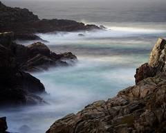 Strathy Point. Moderate, becoming good later. (Ronan_C) Tags: sonya7m2 sonya7ii tamron70300spdi strathypoint sea waves rocks scotland sutherland longexposure